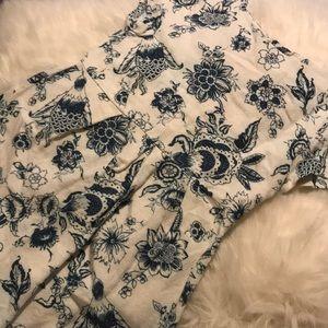 Girls Zara Floral Peasant Dress